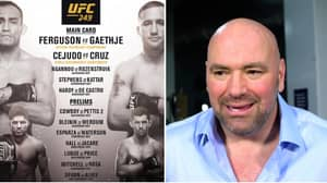 Dana White Says UFC 249 Is 'Probably The Best Card We've Had'