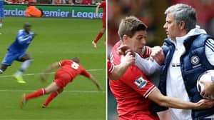 Jose Mourinho Remembers Anniversary Of Win Against Liverpool With Brutal Steven Gerrard Post