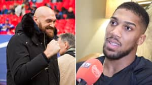 Anthony Joshua Responds To Tyson Fury Accepting His Sparring Offer