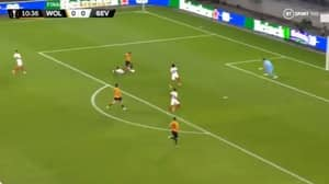 Adama Traore's Incredible Run Wins Penalty For Wolves Against Sevilla