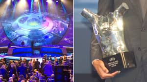 UEFA Player Of The Year Award Leaked Early Ahead Of Official Reveal