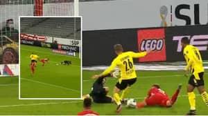 Joshua Kimmich Scores Spectacular Improvised Goal Against Borussia Dortmund In German Super Cup