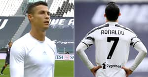Cristiano Ronaldo Punched Dressing Room Wall And Stormed Out Of Stadium Despite Juventus Win