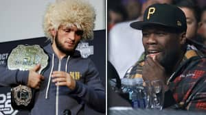 50 Cent Offers Khabib Nurmagomedov $2 million To Fight For Bellator