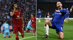 Debate Over Who Was Better In Their Prime Between Hazard and Salah Sends Internet Into Meltdown