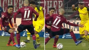 Jadon Sancho Ended Another Career Tonight With Outrageous Moment Of Skill