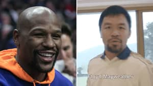 Manny Pacquiao Calls Out Floyd Mayweather With Bizarre Social Media Video