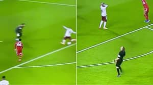 Referee Appears Gutted At Alexandre Lacazette's Failure To Score
