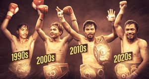 Manny Pacquiao Becomes Only Boxer To Be A Champion In Four Decades