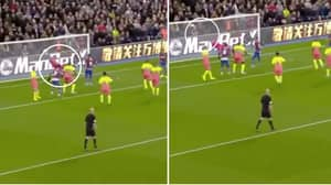 Manchester City's Ederson Produces Save Of The Season Contender Against Crystal Palace