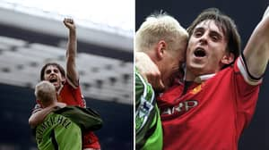 Gary Neville Revealed The Brutal Treatment He Received From Peter Schmeichel After His United Debut