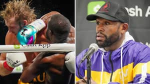 Boxing Legend Floyd Mayweather 'Couldn't Hurt' Logan Paul And It 'Looked Bad For Him'