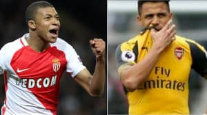 Kylian Mbappe Quickly Deletes Tweet About Arsenal's Alexis Sanchez