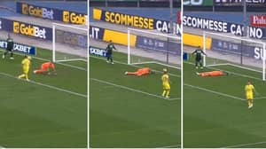 Watch: Chievo's Emanuele Giaccherini Scores A Quite Incredible Own Goal Against Sassuolo
