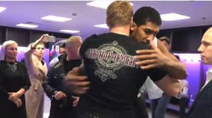 Anthony Joshua And Alexander Povetkin Brilliantly Embrace After Thrilling Heavyweight Fight