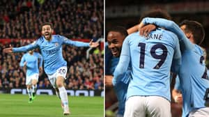 Manchester City Beat Manchester United 2-0 To Move Top Of Premier League