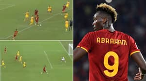 Tammy Abraham Bags Two Brilliant Assists On AS Roma Debut, Fans Already Love Him