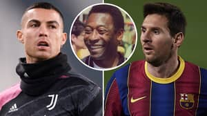 'Pele Is Better Than Cristiano Ronaldo And Lionel Messi,' Says Real Madrid Legend Alfredo Di Stefano
