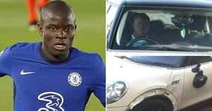 N'Golo Kante Was Involved In A Car Crash But Still Stopped For Fan Photos As He Was Too Polite To Say No