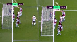Orjan Nyland Appears To Carry Ball Over Goal Line - But No Goal Is Given