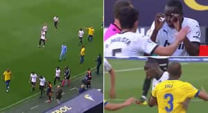 Valencia Players Walk Off Pitch In Support Of Mouctar Diakhaby After Alleged Racial Abuse