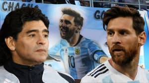 Diego Maradona: Lionel Messi 'Will Never Be A Leader'