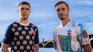 Russian Side Yenisey Krasnoyarsk Will Have The Craziest Kits Next Season