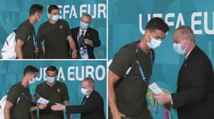 Cristiano Ronaldo Almost Denied Access To The Portugal Game By Eager Security Guard