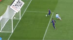 Lionel Messi Makes Las Palmas Goalkeeper Look Foolish