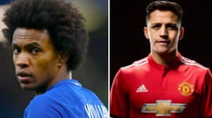 Willian Taunts Arsenal Over The Transfer Of Alexis Sanchez To Manchester United