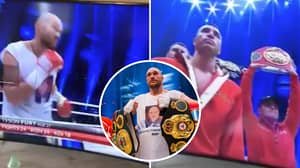 Tyson Fury Hilariously Cheers Himself On As He Rewatches His Famous Victory Over Wladimir Klitschko