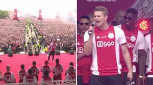 De Ligt Delivers A Powerful Speech About Putting Ajax Back On The Map In European Football