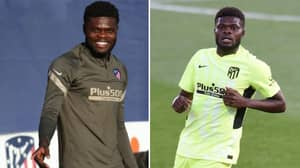 Thomas Partey's Farewell Message To Atletico Madrid Hasn't Gone Down Well