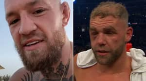 Conor McGregor Aims Ruthless Dig At Billy Joe Saunders After Canelo Alvarez Defeat