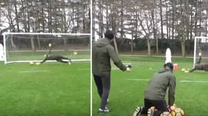 Gianluigi Donnarumma's Insane Training Drill Proves He's One Of The World's Best Goalkeepers