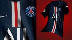 PSG's Home Kit For 2019/20 Has Been Leaked And It's A Sexy Number