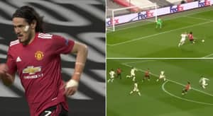Edinson Cavani Compilation Vs Roma 'Proves' Why He Is STILL One Of The Best Finishers In The World