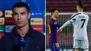 Cristiano Ronaldo Defends Lionel Messi In His Post-Match Interview And It Speaks Volumes Of The Man