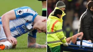 Huddersfield's Aaron Mooy Posts Gruesome Picture Of His Knee Injury