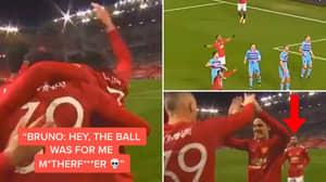 "Bruno Fernandes Told Scott McTominay ""The Ball Was For Me Motherf**ker"" After Man Utd Winner"