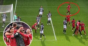 Liverpool Fans Slam Gini Wijnaldum For Reaction To Alisson's Amazing Winner