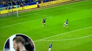 Manchester United's David De Gea Makes Horrendous Error To Give Everton The Lead