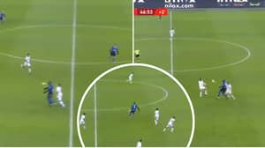 A Clip Of Romelu Lukaku's Brilliant First Touch Goes Viral