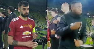 Manchester United Players Slammed As Disrespectful For Europa League Medal Reaction