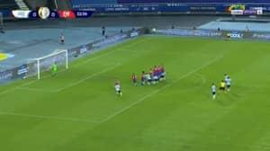 Lionel Messi Curls Home Sensational Free-Kick For Argentina In Copa America Opener