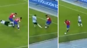 Guillermo Maripan Embarrasses Lionel Messi With His Own Skill In Chile Vs Argentina Game