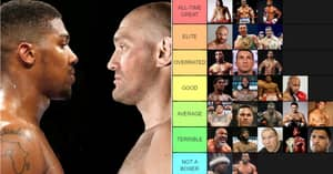 Modern Heavyweight Champions Ranked From 'GOAT' To 'Not A Boxer'