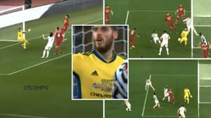 Compilation Of David De Gea's Incredible 10-Save Performance Against AS Roma Proves He's Still World-Class