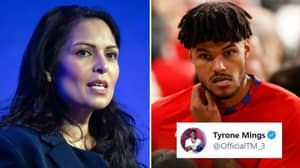 England Defender Tyrone Mings Criticises Priti Patel After Players Are Subjected To Racist Abuse