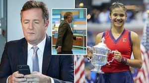 Piers Morgan Slammed For 'Deluded' Tweets Immediately After Emma Raducanu's US Open Win